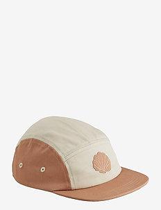 Rory cap - czapki - sea shell tuscany rose mix
