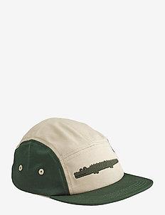 Rory cap - czapki - crocodile garden green mix