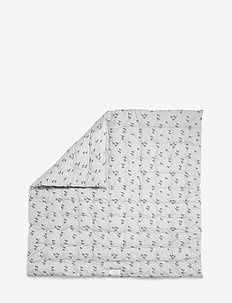 Agnes baby blanket print - PAPERPLANE DUMBO GREY