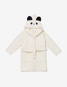 Lily bathrobe - bath time - panda creme de la creme