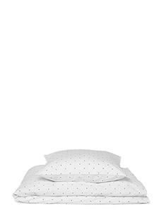 Carl adult bedding print - CLASSIC DOT CRISP WHITE