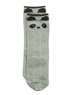 Sofia knee socks - PANDA DUSTY MINT