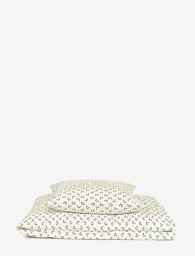 Carl adult bedding print - bettwäsche-set - panda creme de la creme
