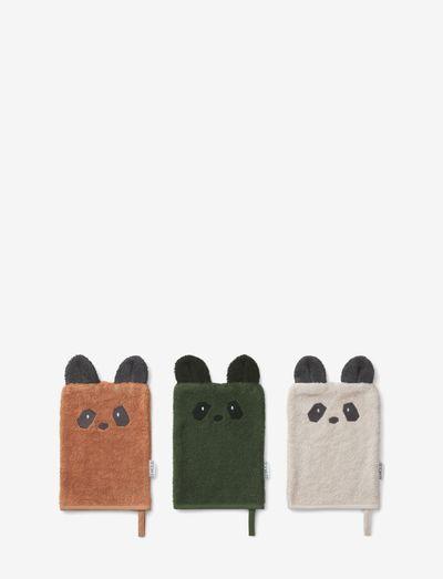 Sylvester washcloth 3-pack - accessoires - panda mix