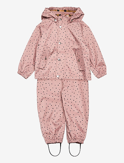 Dakota rainwear - overaller - confetti rose