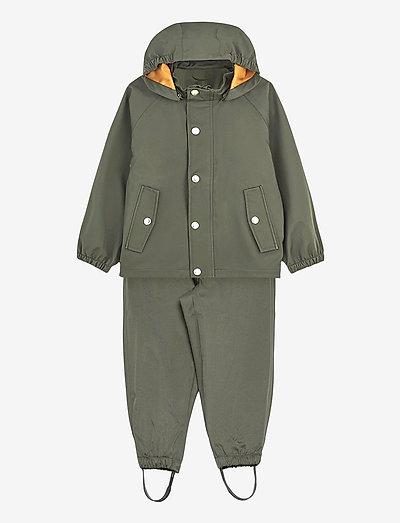 Parker rainwear - sets & suits - hunter green