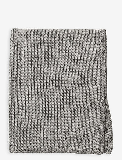 Mathias neck warmer - accessories - grey melange