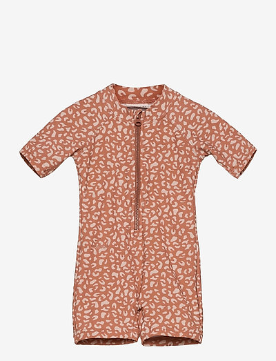 Max swim jumpsuit - uv-clothing - mini leo tuscany rose