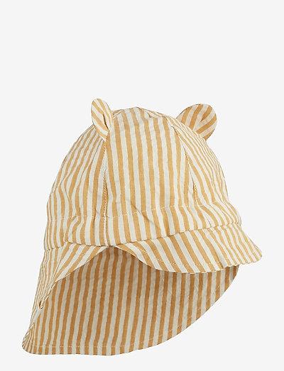 Gorm sun hat - solhat - y/d stripe