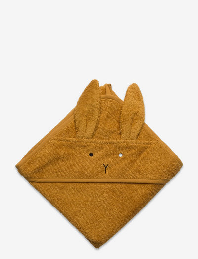 Albert hooded towel 2-pack - accessoires - mustard mix