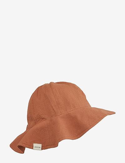 Layla sun hat - solhat - sienna