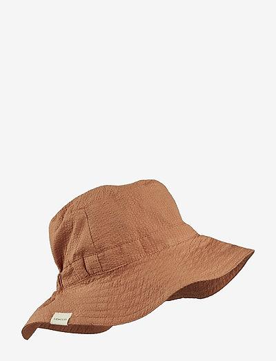 Loke bucket hat - solhat - sienna