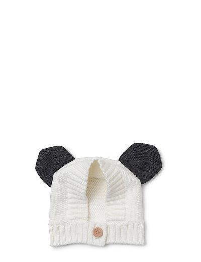Knit baby hat panda - CREME DE LA CREME