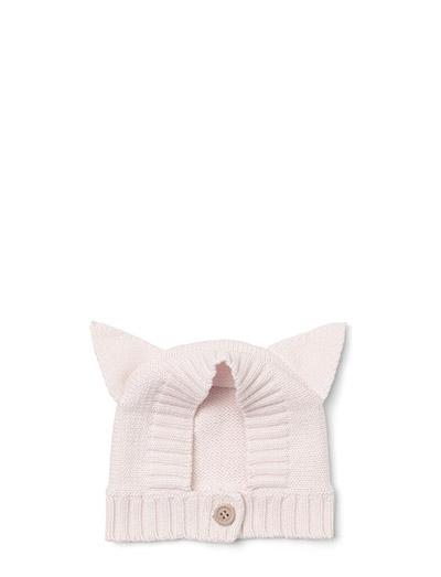Viggo merino knit hat - CAT SWEET ROSE