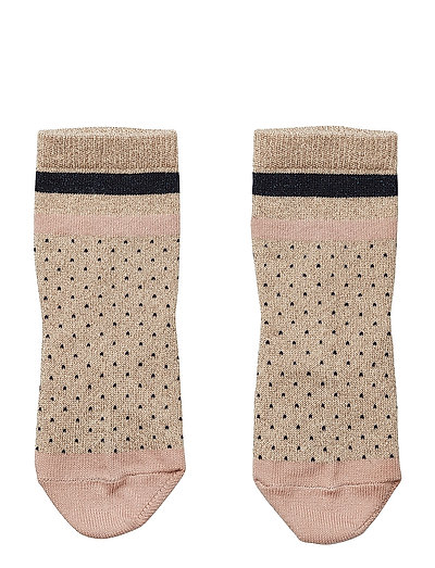Silas lurex socks - LITTLE DOT GOLD