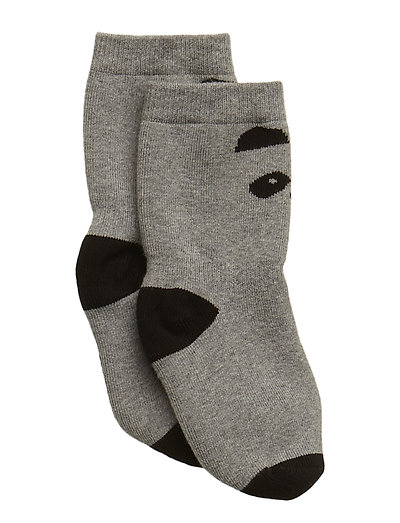 Nellie anti slip socks - PANDA GREY MELANGE