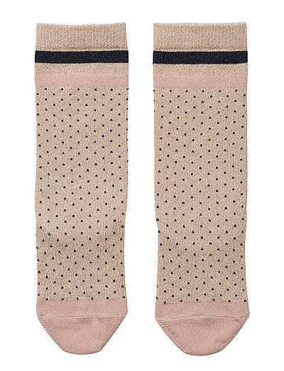 Sofia lurex knee socks - LITTLE DOT GOLD