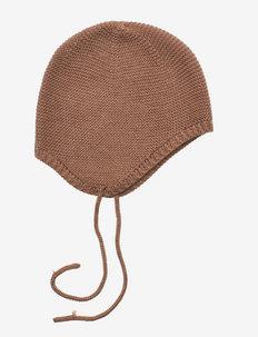 NBNGENE KNIT HAT - czapeczki dla niemowląt - partridge
