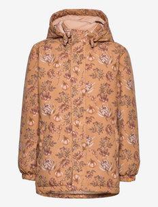 NMFLASNOW10 JKT - shell jacket - tobacco brown