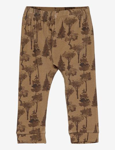 NBMGEO LOOSE PANT - trousers - ermine