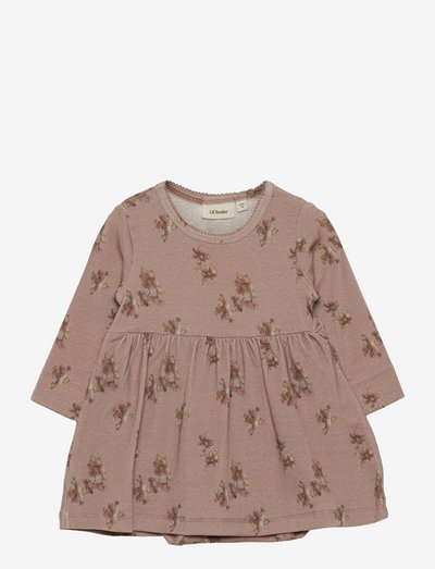 NBFGAYA LS BODY DRESS - dresses & skirts - almondine