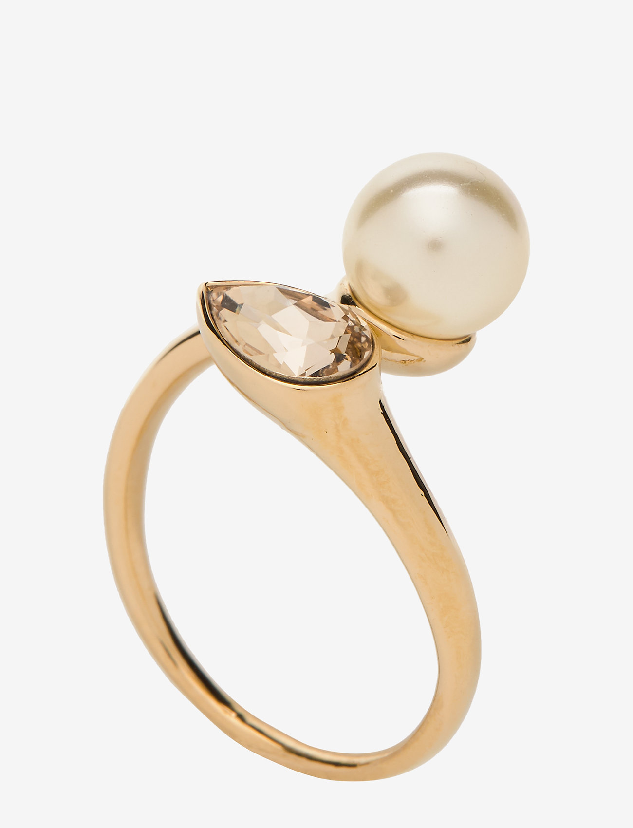 Lily And Rose Ella Pearl Ring - Ivory (gold) Smycken