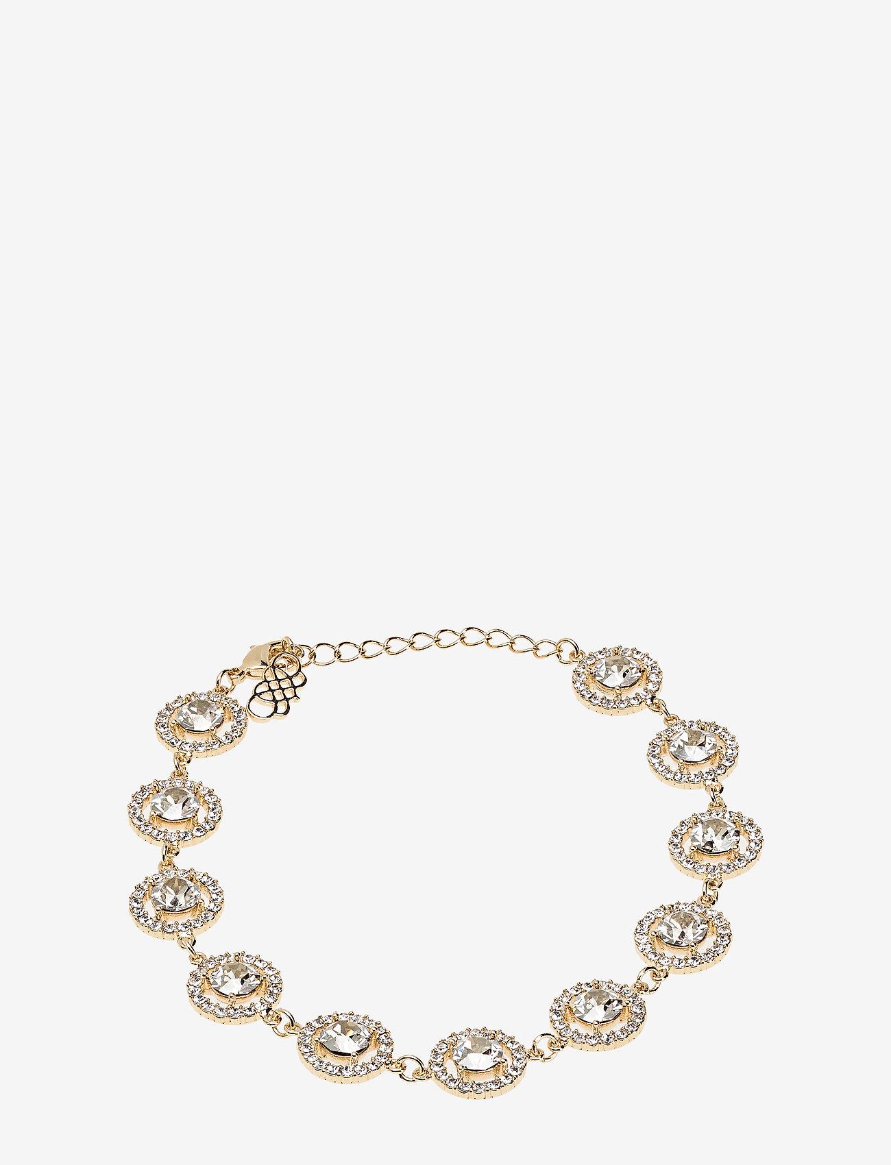 LILY AND ROSE - Miranda bracelet - Silvershade (Gold) - dainty - silvershade - 0