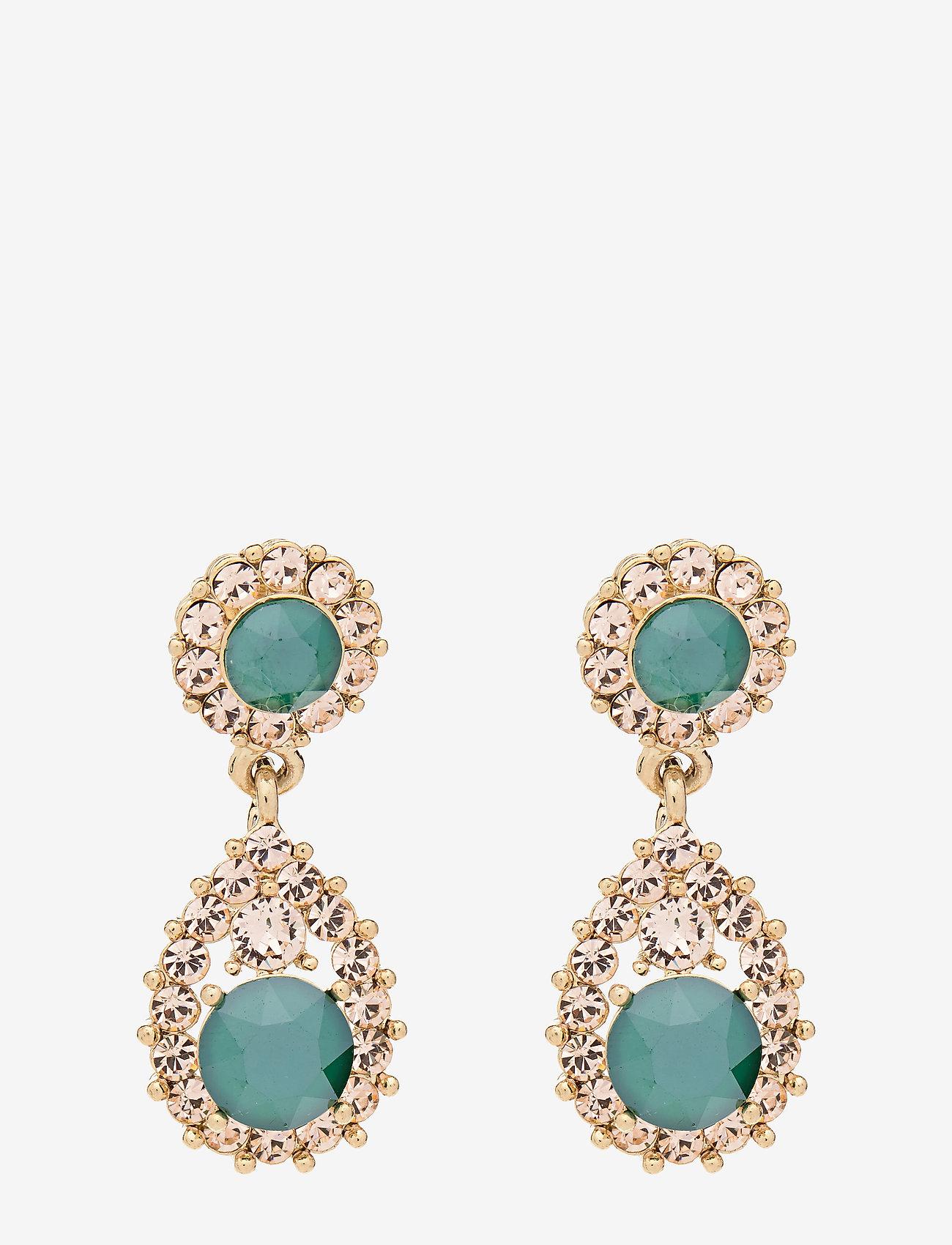 LILY AND ROSE - Sofia earrings - Royal green - pendant - royal green