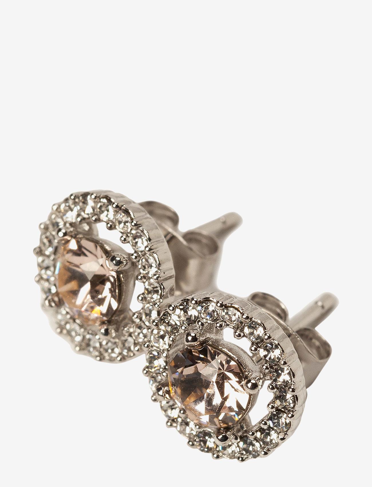 LILY AND ROSE - Miss Miranda earrings - Silk - nagliņauskari - silk - 0