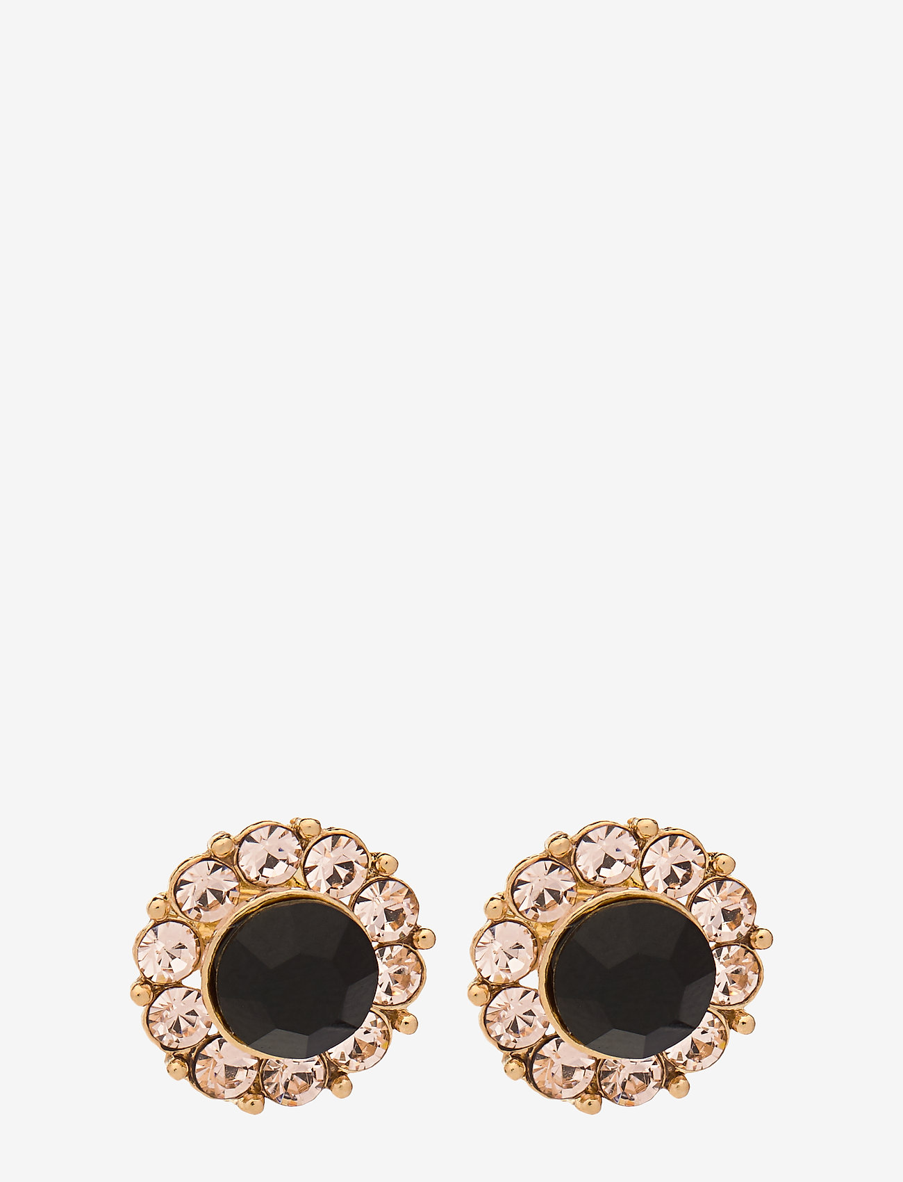 LILY AND ROSE - Miss Sofia earrings - Jet - studs - jet