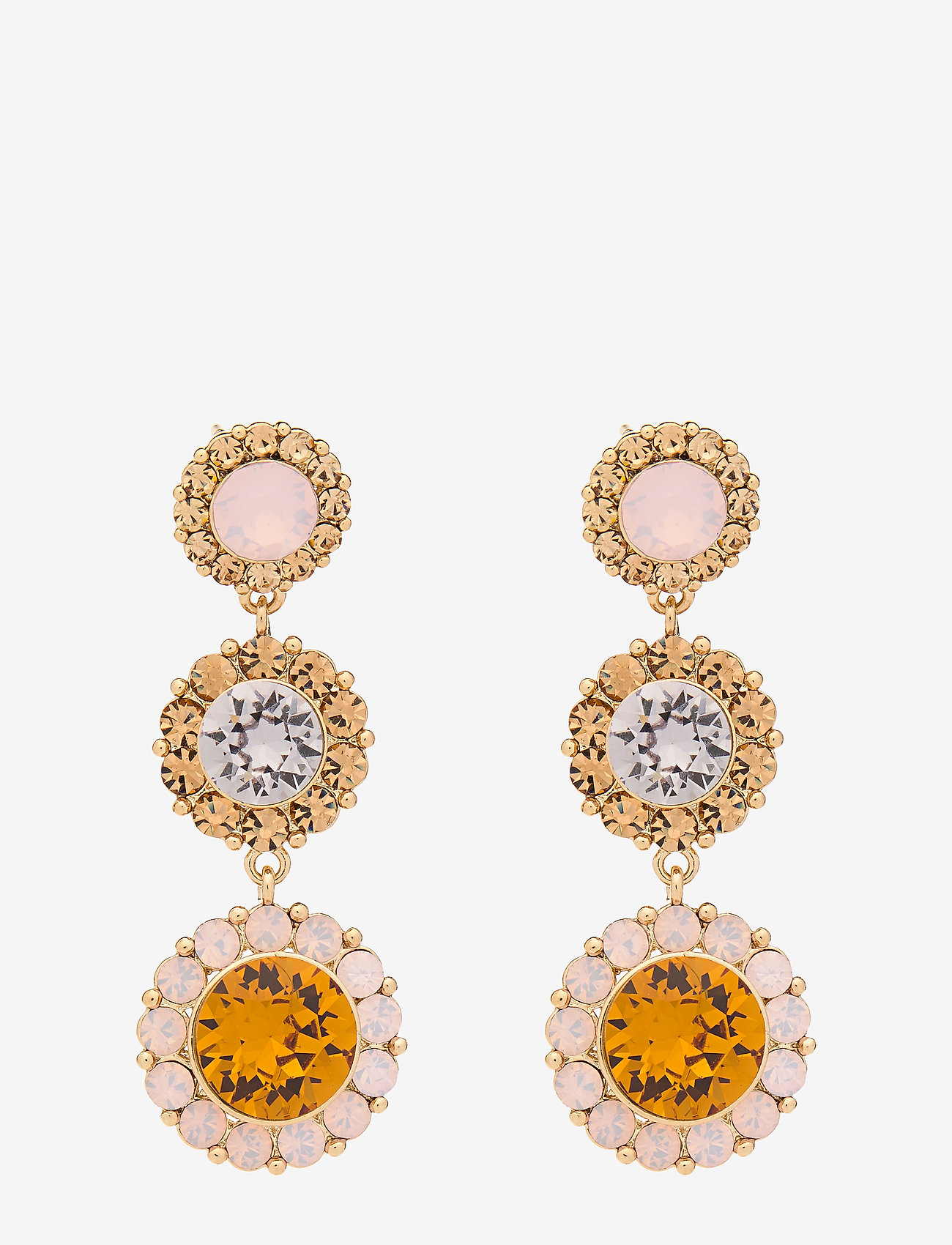 LILY AND ROSE - Sienna earrings - Topaz - statement - topaz