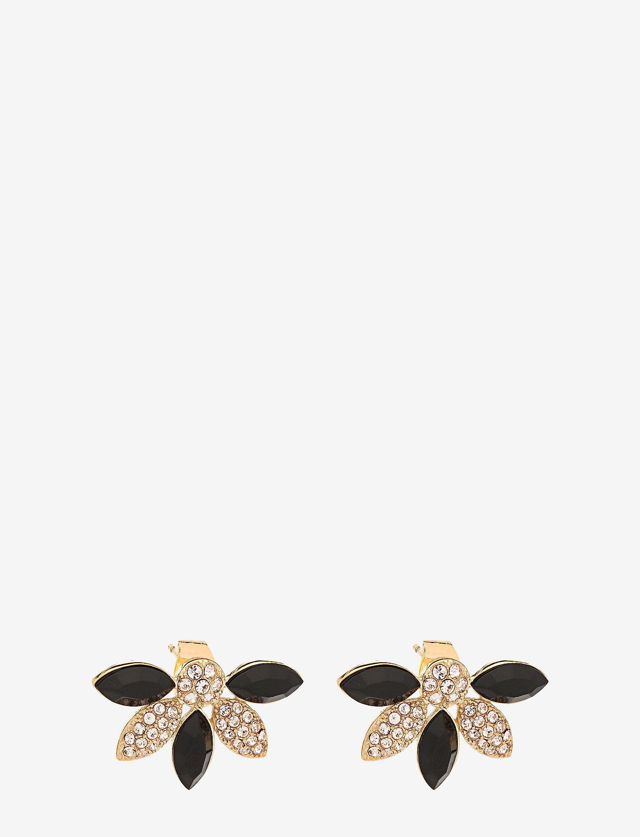 LILY AND ROSE - Lucia earrings - Jet - studs - jet