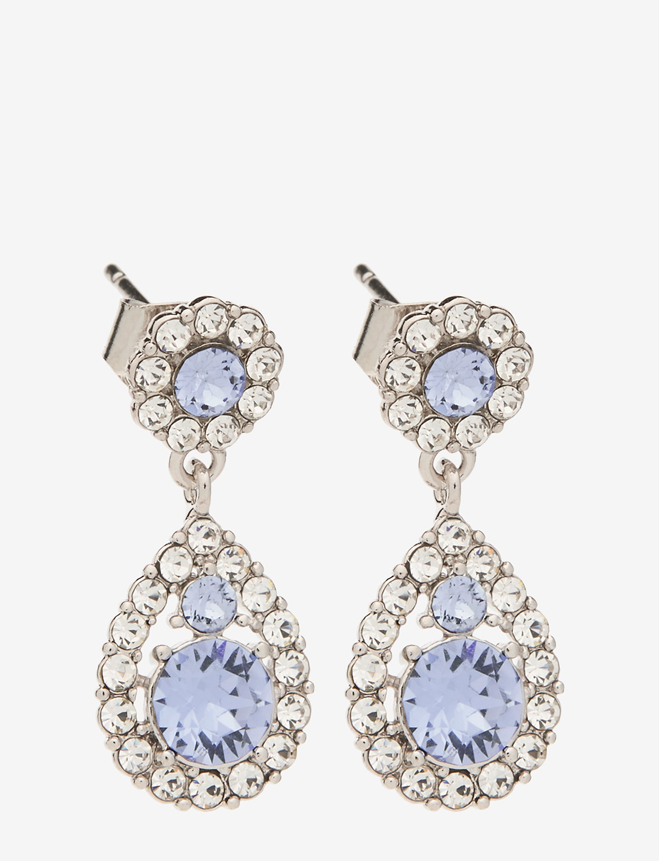 LILY AND ROSE - Petite Sofia earrings - Light sapphire - pendant - light sapphire