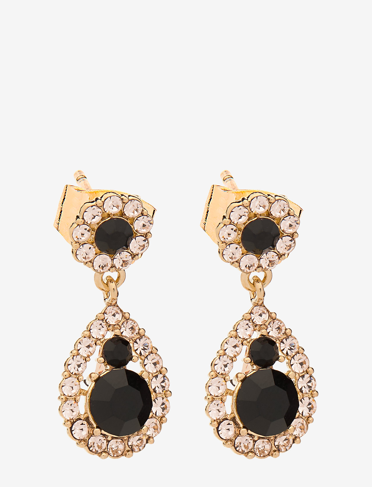 LILY AND ROSE - Petite Sofia earrings - Jet - pendant - jet