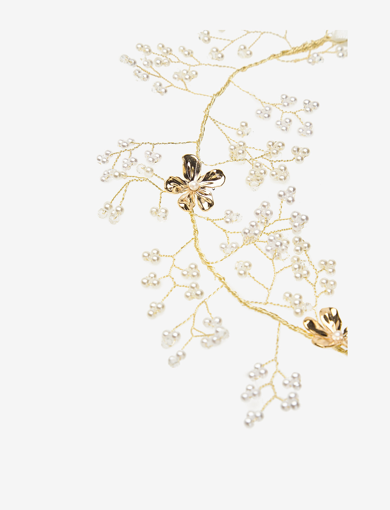 LILY AND ROSE - Leonore hairpiece - Ivory (Gold) - haar accessoires - ivory - 1