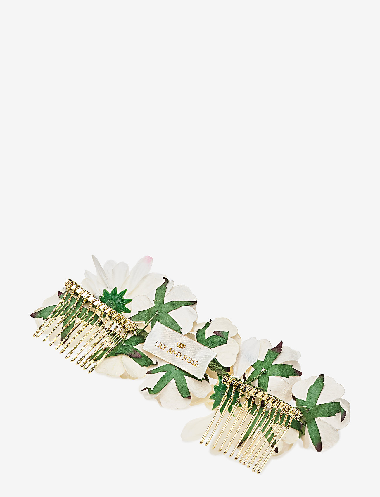 LILY AND ROSE - Rosie hairpiece - Ivory (Créme) - haar accessoires - ivory - 1