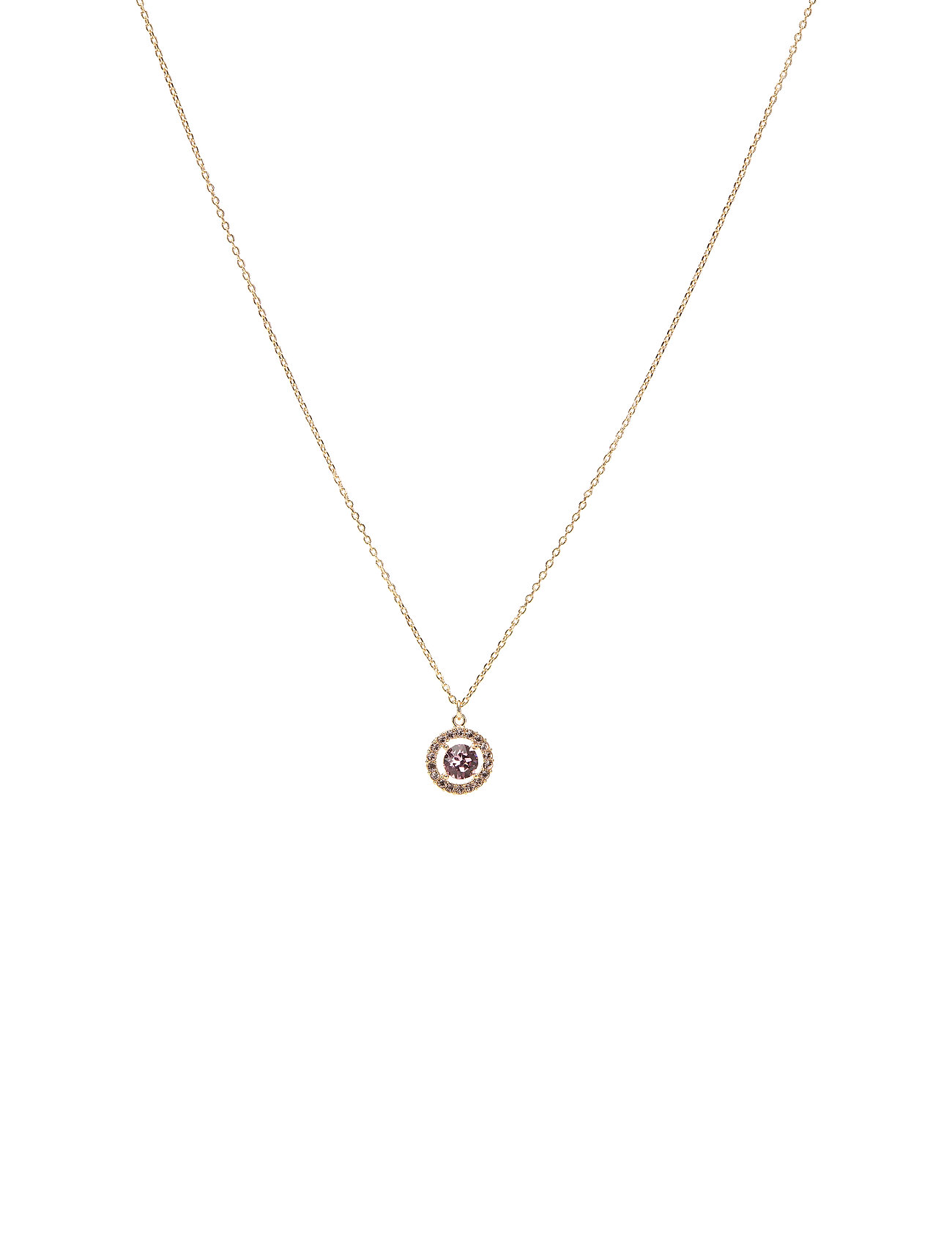 Image of Miss Miranda Necklace - Light Rose Accessories Jewellery Necklaces Dainty Necklaces Lilla LILY AND ROSE (3308423535)