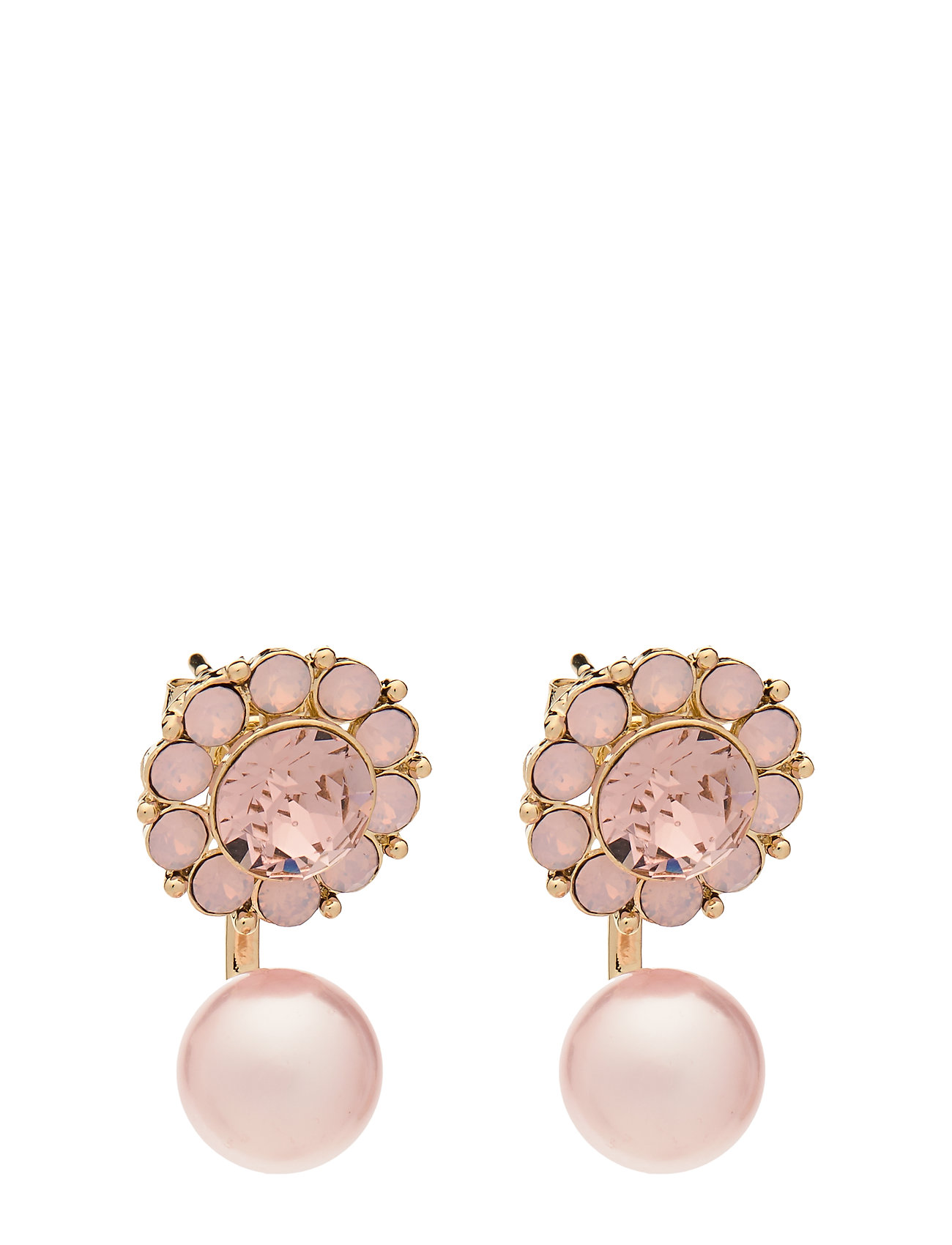 Image of Miss Sofia Butterfly Earrings - Vintage Rose Opal Accessories Jewellery Earrings Studs Lyserød LILY AND ROSE (3416362861)