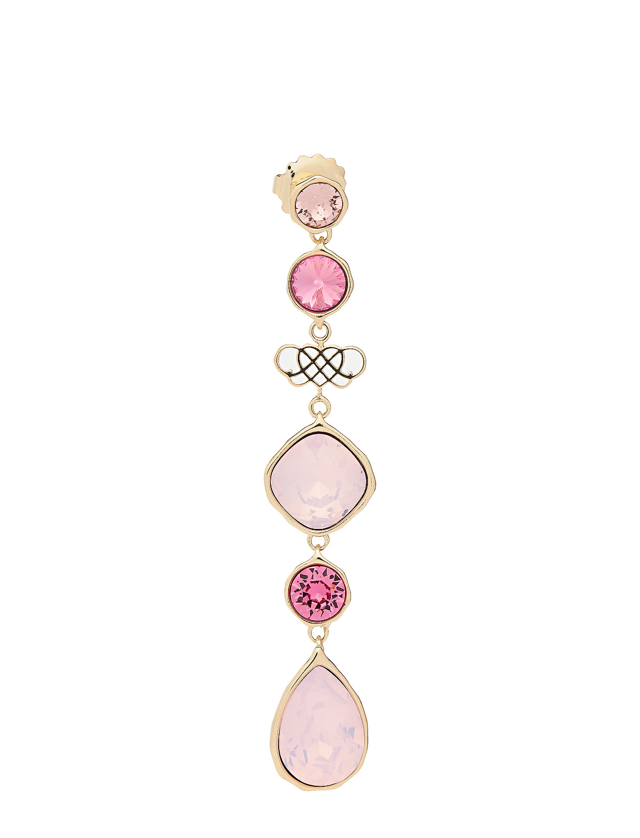 Image of Lucy Earrings - Rose Ørestickere Smykker Lyserød LILY AND ROSE (3364041713)
