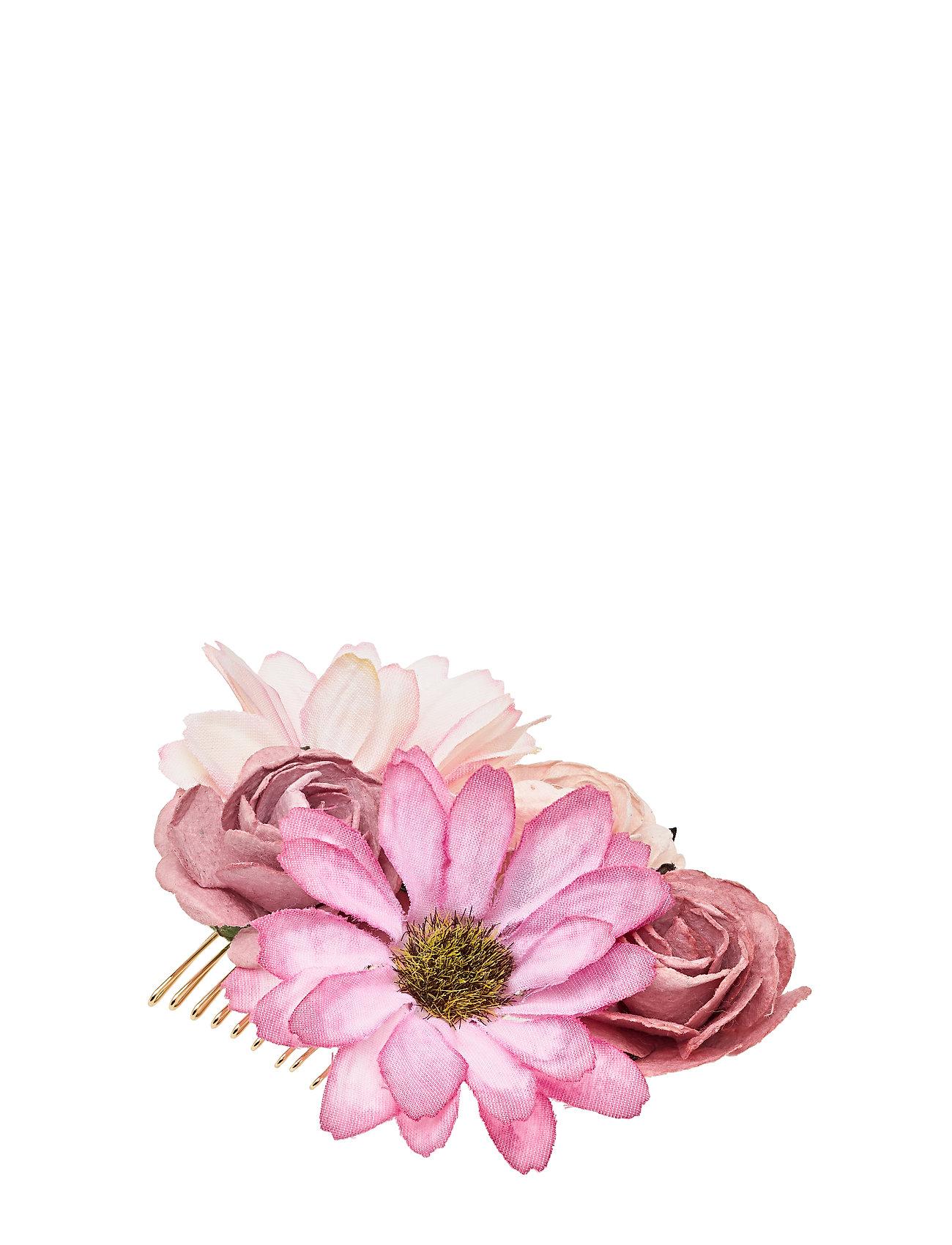 Image of Petite Rosie Hairpiece - Vintage Rose Hårtilbehør Lyserød LILY AND ROSE (3364041745)