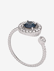 LILY AND ROSE - Miranda ring - Silver blue - bagues - silver blue - 1