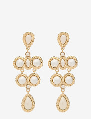 LILY AND ROSE - Miss Kate Pearl earrings - Ivory - statement - ivory - 0