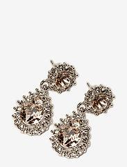 LILY AND ROSE - Sofia earrings - Silk - auskari ar kulonu - silk - 0