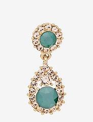 LILY AND ROSE - Sofia earrings - Royal green - pendant - royal green - 1
