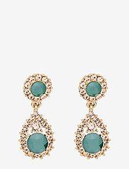 LILY AND ROSE - Sofia earrings - Royal green - pendant - royal green - 0