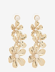 LILY AND ROSE - Eponine pearl earrings - Ivory - pendant - ivory - 0