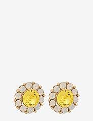LILY AND ROSE - Miss Sofia earrings - Sunshine - nappikorvakorut - sunshine - 1