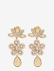 LILY AND ROSE - Aurora earrings - Golden shadow - statement - golden shadow - 0