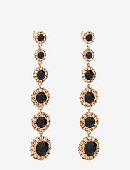 LILY AND ROSE - Celeste earrings - Jet - statement - jet - 0