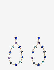 LILY AND ROSE - Annabelle earrings - Majestic blue - statement necklaces - majestic blue - 1